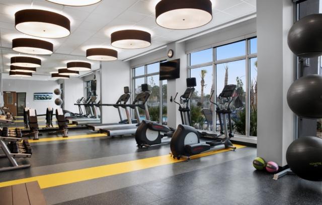 Fairfield Inn & Suites Daytona Beach Speedway/Airport fitness room