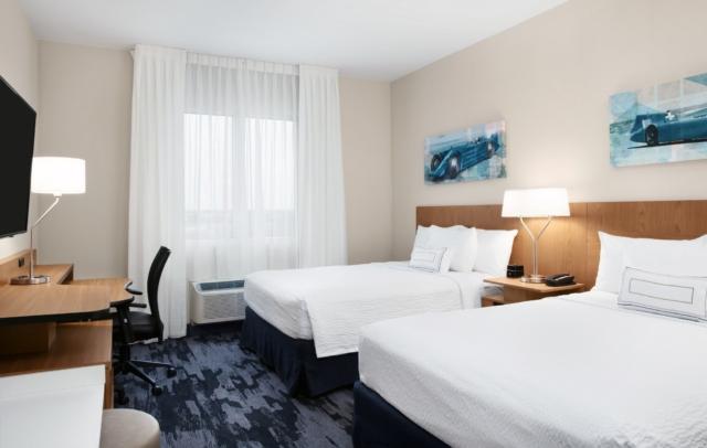 Fairfield Inn & Suites Daytona Beach Speedway/Airport two queen bedroom