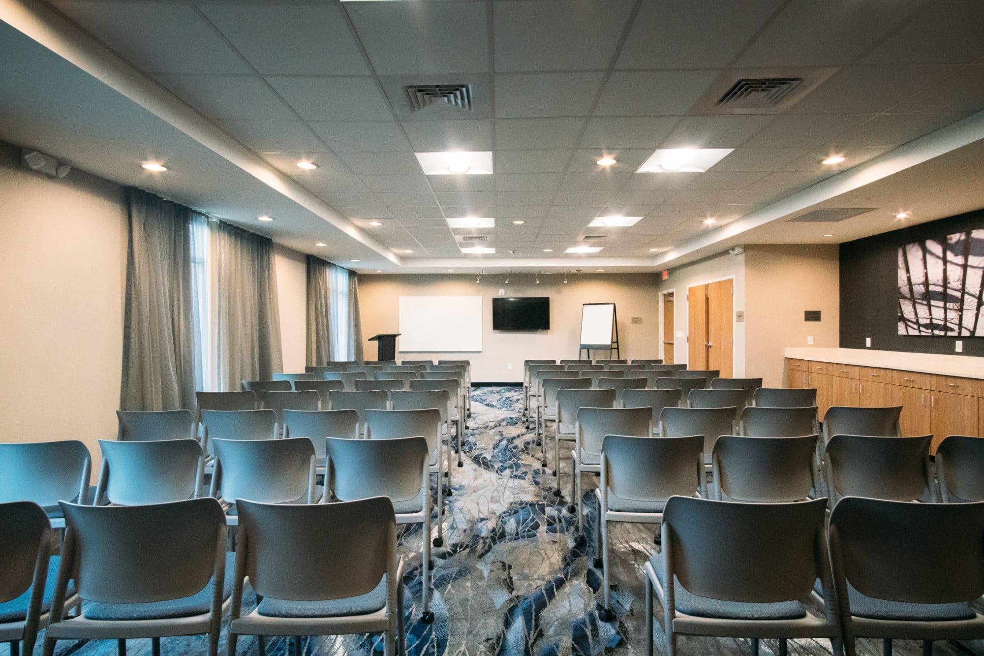 Fairfield Inn & Suites Wesley Chapel Tampa Florida meeting room