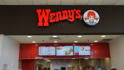 wendys at service plaza