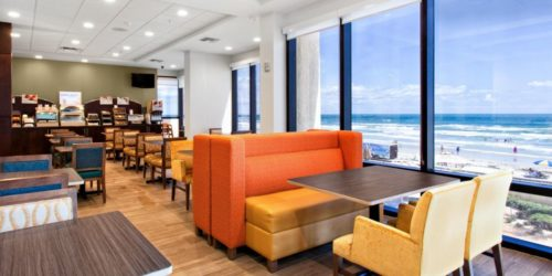 Holiday Inn Express & Suites Oceanfront Daytona Beach Shores view